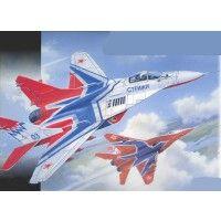 """Сборная модель самолета М1/72 Самолет МиГ-29, Пилотажная группа """"СТРИЖИ"""""""