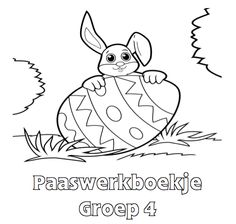 Paaswerkboekje Groep 4