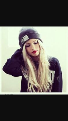 Beanies are so in right now!!