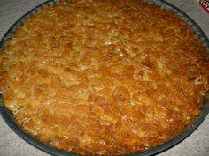 Receitas práticas de culinária: TARTE DE AMÊNDOA