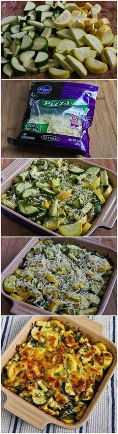 Easy Cheesy Zucchini Bake ~ If you know all the assets of these wholesome veggies you are definitely trying to add them in your daily food ration as often as you can.