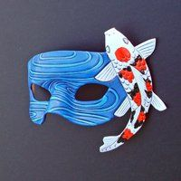 deviantART: More Like Fighting Bettas...leather mask by *merimask