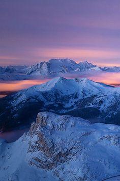 Bellasecretgarden — (via Blue Mountainsby Filippo Moretti   What a...