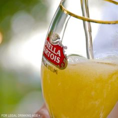 When serving your guests, pour on the charm and the Stella Artois. #HostBeautifully