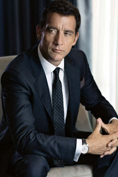 #Clive Owen - GQ. There was a time it did not occur to  me that Clive Owen is a really good looking bloke.