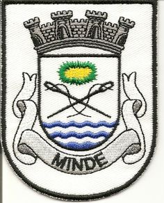 O brasão de Minde