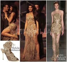Yay or Nay : Jacqueline Fernandez in Julien Macdonald and Nicholas Kirkwood | PINKVILLA