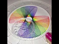 Spirograph Rainbow. So relaxing to watch.