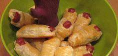 Photo recette : gros doigts de monstres pour Halloween