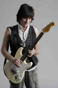 Jeff Beck - Saw him with BB King at Nautica in Cleveland. Jeff has Jaw dropping skills, he does things with a guitar that no one else can.