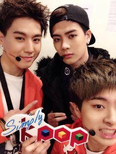 Got7 Yugyeom Jackson and Youngjae