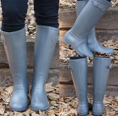 The rain boots you're all obsessing over also comes in grey  Shop these NOW online or at the Commerce store. #shopPD