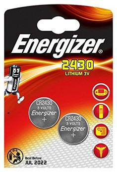 Energizer Spezialbatterie (CR2430 Lithium 3,0Volt 2er-Packung) #Energizer #Spezialbatterie #Lithium #,Volt #Packung)