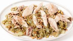 طريقة عمل الفريك بالدجاح لايت - Light chicken frikeh recipe