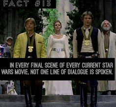 I noticed this. Except for Rogue One but it's not an episode so it doesn't really count.
