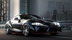 German tuning firm Manhart leaves its mark on the Toyota GR Supra by adding more than 100 horses to the sports car's six-cylinder engine. New Toyota Supra, Cafe Racer Jacket, Bmw Models, Honda Civic Si, Mitsubishi Lancer Evolution, Nissan 350z, Tuner Cars, Nissan Silvia, Honda S2000