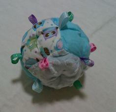 - Puff Ball 'Taggie' Soft Toy - Owls