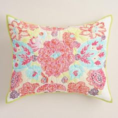 One of my favorite discoveries at WorldMarket.com: Rachel Medallion Pillow Shams, Set of 2