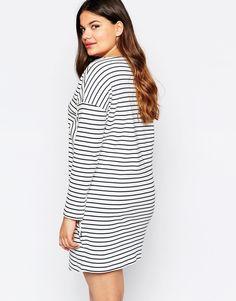 Image 2 ofJunarose Long Sleeve Stripe Dress