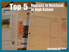 Top 5 Reasons to Notebook from Harmony Art Mom