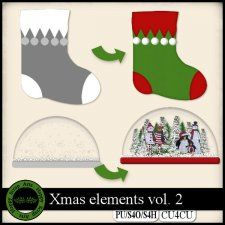 Xmas vol. 2 templates CU4CU #CUdigitals cudigitals.com cu commercial digital scrap #digiscrap scrapbook graphics