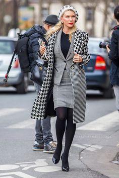 paris street fashion <3