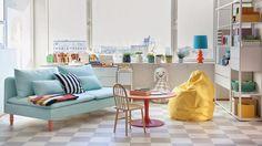 I Bemz Lifestyle Playground får fantasin flöda fritt med djärva färger och mönsterkombinationer - helst ihop med vita väggar och stramt designade möbler.
