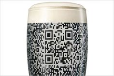 Only Guinness makes QR code appear.  (Culturematics discover hidden meaning, release secret value).  HT PSFK.