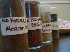 "Update July I've used these spice mixes a lot now and I really like them! I altered some DIY seasoning mixes to make them no fodmap. I also invested in Asafoetida Powder (or ""Hing"") bec. Spice Blends, Spice Mixes, Sin Gluten, Gluten Free, Dairy Free, Ibs Fodmap, Fodmap Foods, Fructose Malabsorption, Fructose Free"