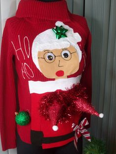 68 best ugly christmas sweaters images merry christmas diy ugly rh pinterest com