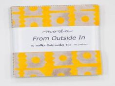 Moda Charm Pack ~ From Outside In ~ Designer: Malka Dubrawsky for Moda in Crafts, Sewing & Fabric, Quilting | eBay