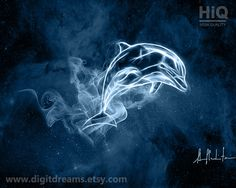 S061: Shamanic Guardians  Dolphin by DigitDreams on Etsy