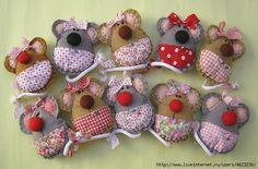 Мышки из ткани и фетра. Обсуждение на LiveInternet - Российский Сервис Онлайн-Дневников