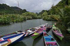 Makassar, Rammang-Rammang-Tal, der Regen verzog sich schnell wieder