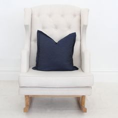 Denim Throw Pillow Cover