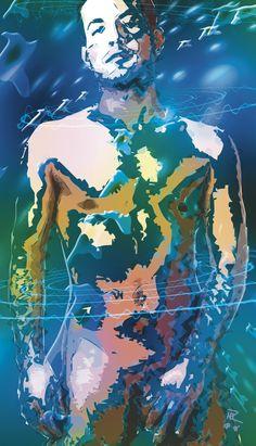 ArtMen, PopArt, Grafikdesign ©RÜHLEDESIGN