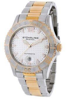 Price:$142.67 #watches Stuhrling Original 161.332242, Created in a blend of fashion and class, this Stuhrling timepiece exhibits a bold style that adds flare to your collection.