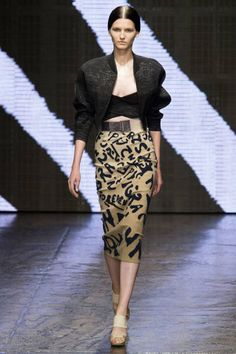 Donna Karan Spring 2015 Ready-to-Wear - Donna Karan Ready-to-Wear Collection