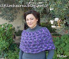 IL FILO CHE CREA: Coprispalle a maglia con i ferri circolari-Spiegazione in italiano