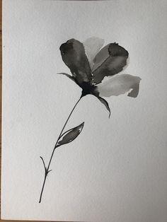 Japanese Ink Painting, Art Styles, Leaf Tattoos, Fashion Art, Inspire, Leaves, Flowers, Instagram, Styles Of Art