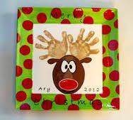 handprint reindeer plate - Google Search