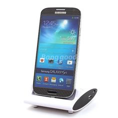 [US$12.51] 3 IN 1 OTG Dock Battery Charger Cradle For Samsung Galaxy S4 #dock #battery #charger #cradle #samsung #galaxy