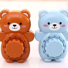 ₹263.2159%Cute Bear Cartoon Timer Small Alarm ClockKitchen,Dining & BarfromHome and Gardenon banggood.com