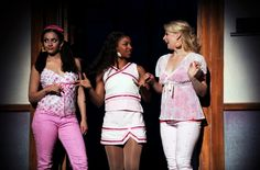 legally blonde cast photos/margot - Google Search Legaly Blonde, Legally Blonde Outfits, Greek Chorus, Jessica Day, Elle Woods, My Fair Lady, Musical Theatre, Costumes, Costume Ideas