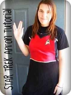 Star Trek Apron