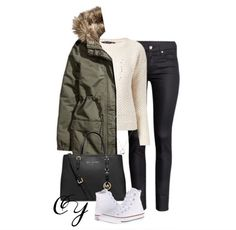 Image via We Heart It #casual #clothes #converse #fall #fashion #MichaelKors #outfit #Polyvore #sweater #winter #tiffany&co #ootd #outfitforschool