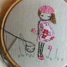 Embroidered must remember that I know how to embroider even if I can't crochet!