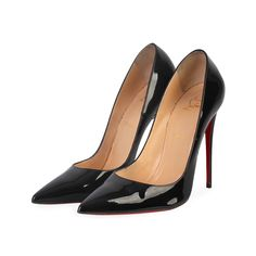 These Christian Louboutin pumps simply speak high fashion in every stitch and curve.  ITEM CONDITION: Pre-owned – Very good condition.  SUPPLIED WITH: These shoes are supplied with their original Christian Louboutin dust bag and box.  SIZE: 41.5 – (UK size 7.5)  THE LEFT SHOE: Very good condition – With normal signs of wear.  THE RIGHT SHOE: Very good condition – With normal signs of wear. Black And White Heels, Black Pumps, Christian Louboutin Outlet, Louboutin Pumps, Dust Bag, High Fashion, Shop Now, Stitch, Shoes Style