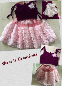 Pretty outfit for little cute one from Sheees