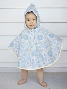 Baby Rain Cape - Limited Edition Raincoats made from vintage sheets & duvets 💧We deliver world wide 🌏 Handmade in NZ 👋 Eco-friendly ♻️ Rain Cape, Vintage Sheets, Kiwi, Duvet, Eco Friendly, The Creator, Raincoat, Baby, Handmade